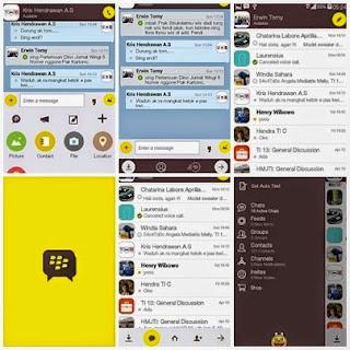 BBM Mod Theme KakaoTalk Messenger Based 2.8.0.21 V5