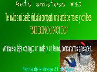 RETO AMISTOSO 43. CUMPLIDO!!