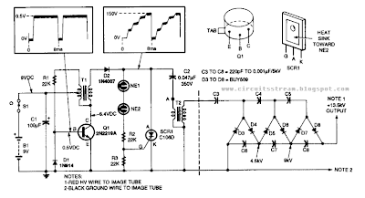 build a 13kv high voltage power supply wiring diagram schematic rh wiringcolor blogspot com