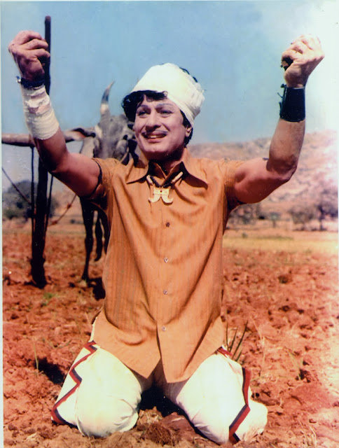 MGR in 'Urimai Kural' Movie