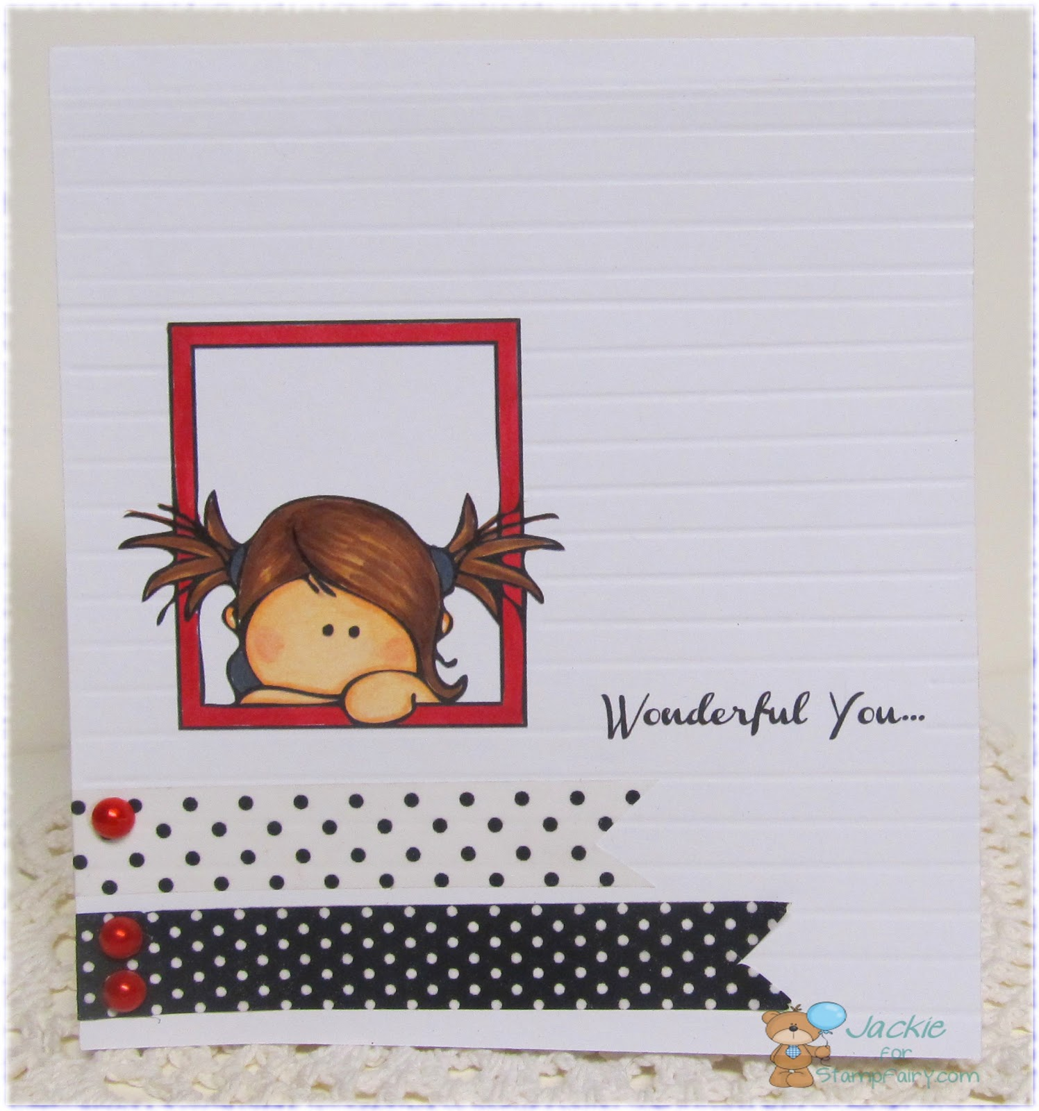 Paper Moments: Stamp Fairy Mimi Frames