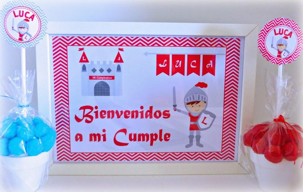 decoracion cumpleaños caballeros y princesas