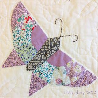 Butterfly Block Scrap Quilt