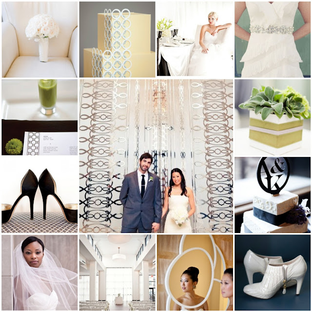 modern and contemporary wedding