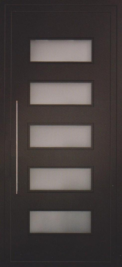 Todo puertas modernas en aluminio nuevos modelos en la - Modelos de puertas de interior modernas ...