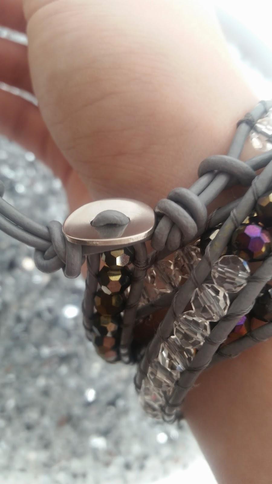 Armband mit Perlen - www.annitschkasblog.de