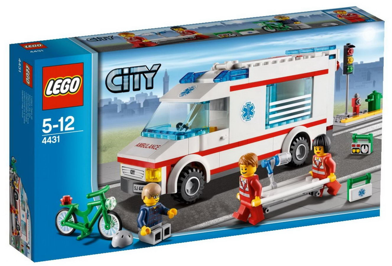 Repubblick set database lego 4431 ambulance - Lego ambulance ...