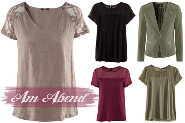 H&M Shirts Tops Blazer Frühling 2013