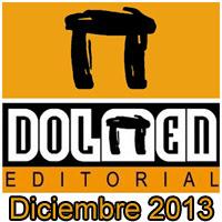 Dolmen Editorial: Novedades Diciembre 2013