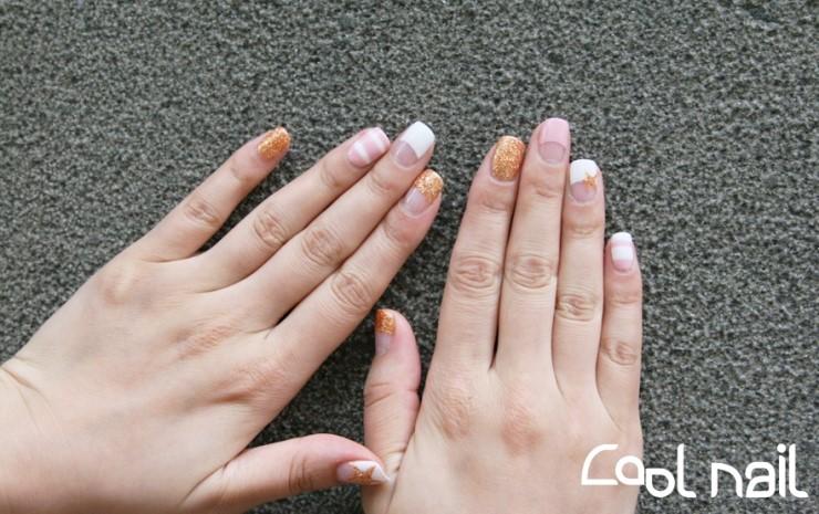 Magazinepapa Variety Of Nail Design Summer Nail Glitter Stripe
