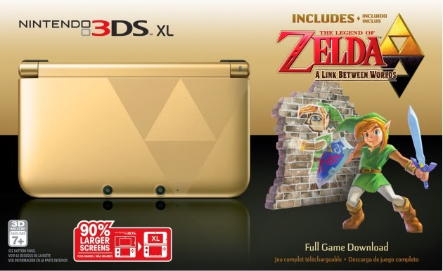 The Legend of Zelda 3DS Bundle