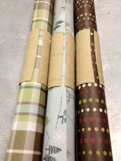 Wrapping Paper Holders