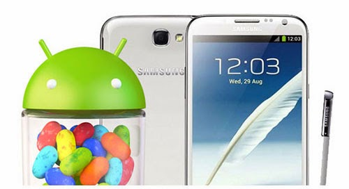 Samsung Galaxy Note 2 Android 4.3 Jelly Bean update