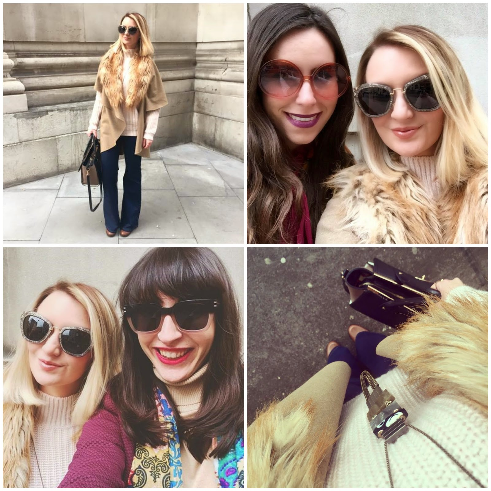 LFW AW15 Snapshots: Photo Diary, mode madeleine, fashion blogger, LFW, AW15, london fashion week, seventies, styling, catwalk, fashion week, felder felder, bora aksu, red hot sunglasses, sam faires, michelle keegan, rosie londoner