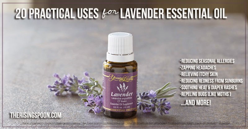 20 Practical Uses For Lavender Essential Oil | therisingspoon.com