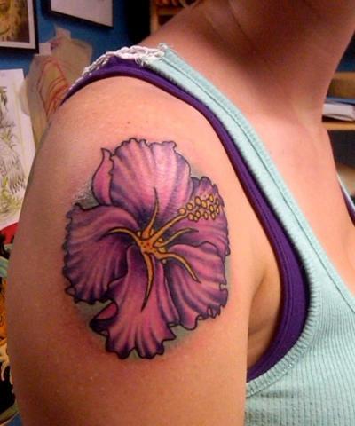25+ Tattoo Designs: Hibiscus Flower Tattoo   400 x 480 jpeg 36kB