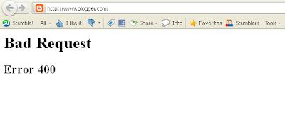 blogger down