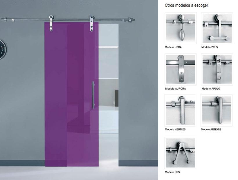 Puertas de cristal ares en acero inox artideco puertas - Cubreradiadores de cristal ...