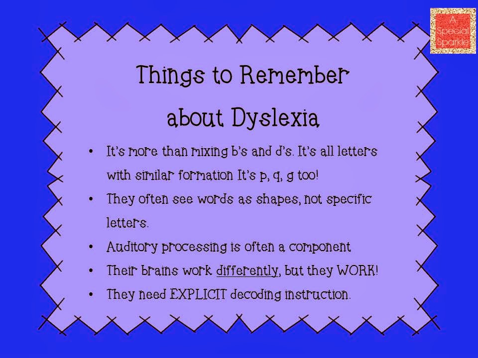Dyslexia research paper outline