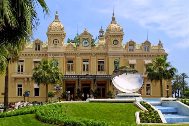 Casino de Monte Carlo, Monaco -World's Most Luxurious Casinos