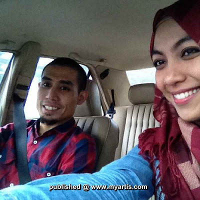Gambar Ustaz Don bersama isteri tersayang