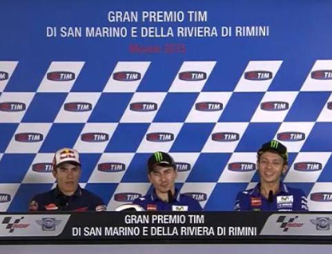 Klasemen Sementara MotoGP per Misano 2015