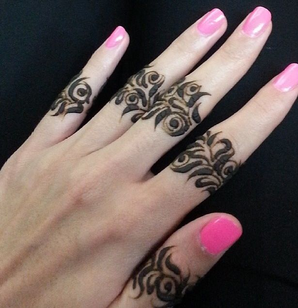 Mehndi Fingers Design : Bridal mehndi designs best simple henna for
