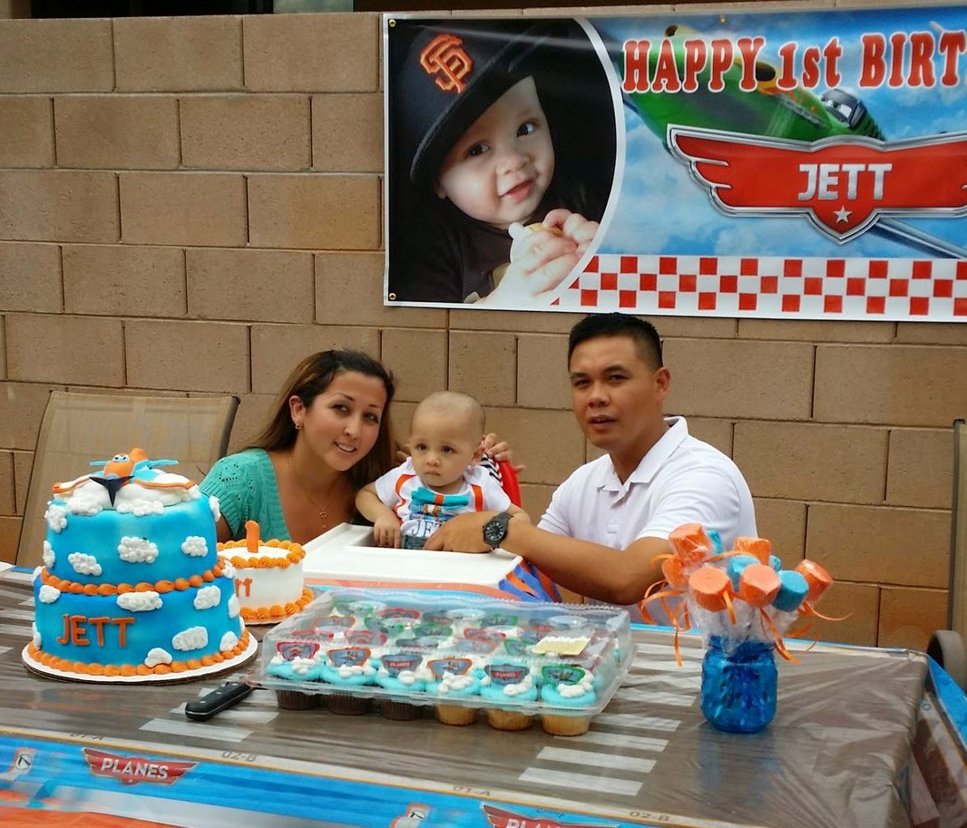Plane Themed First Birthday Party