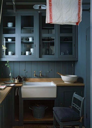 Chamomile and Peppermint Blog - Moody Blue Hues