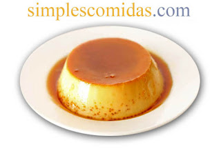 flan casero