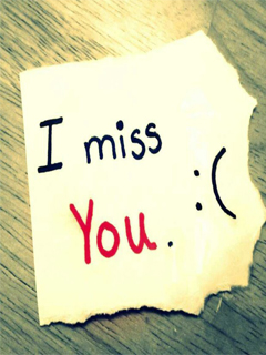 i miss you 240x320 mobile wallpapers mobile wallpapers