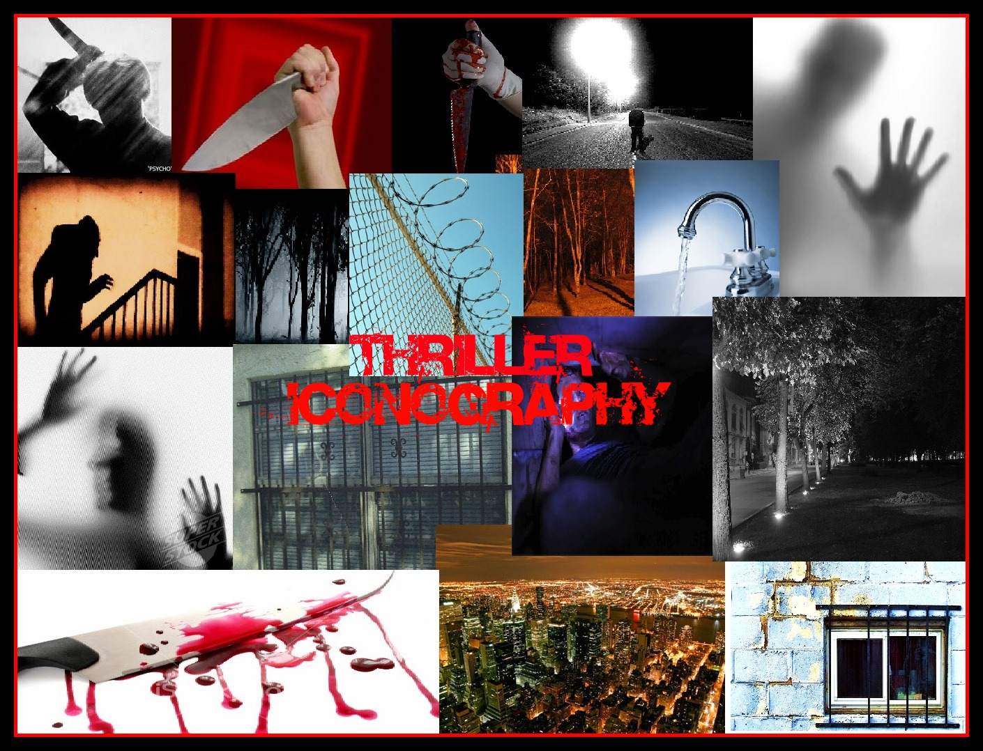 thriller genre This one-evening course provides an overview of the thriller genre and helps you  understand the conventions and tropes of specific genre storytelling.