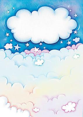 Dibujo cielo infantil para imprimir imagenes y dibujos para imprimir - Imagenes de nubes infantiles ...