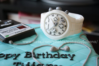 edible gumpaste michael kors watch