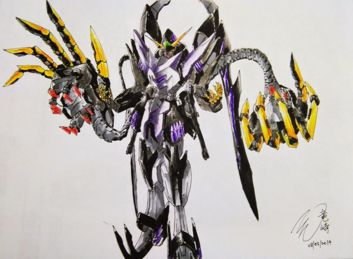 Gundam guy 03 07 15 for Portent flyer