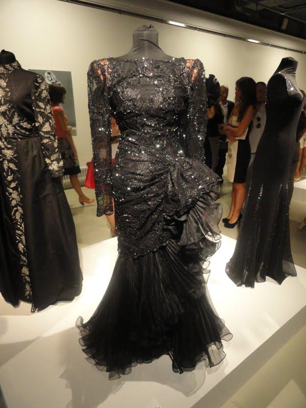 Вечернее платье из тюля из гардероба