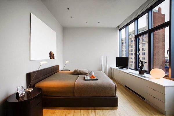 Gambar Model Kamar Tidur Minimalis Sederhana Desain Modern