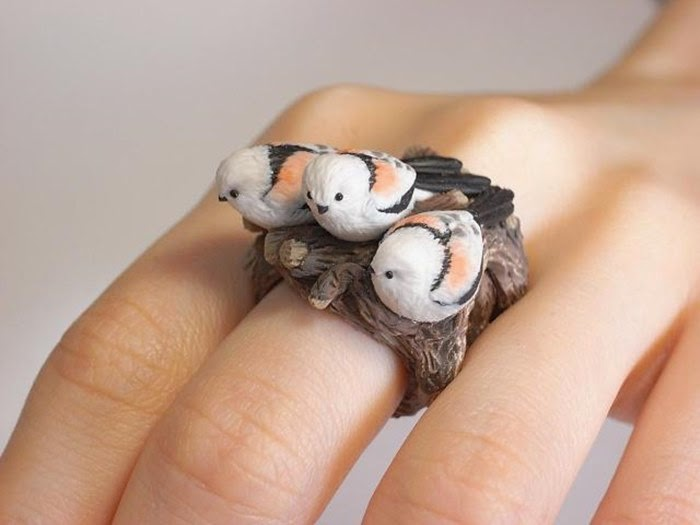 Finger Rings in the form of Animals | Jiro Miura