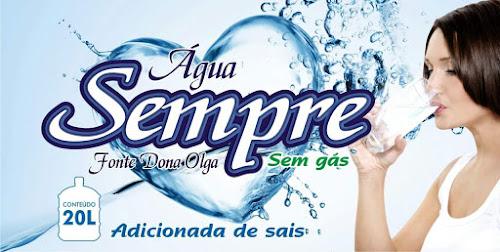 Conheça a água adicionada que é nossa ! Água Sempre de Iguatu e o Centro Sul para todo o Ceará
