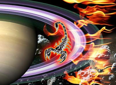 Saturn Direct In Scorpio