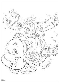 coloriage sirene gratuit à imprimer et colorier