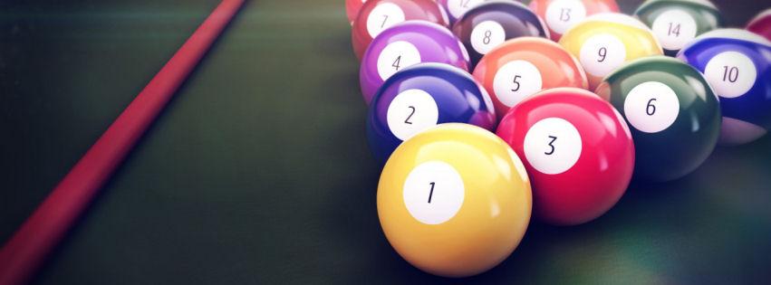 Billiards facebook cover