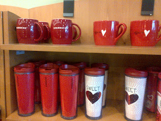 Valentine Mugs/tumblers ...now Available At Starbucks! Berry Cute!