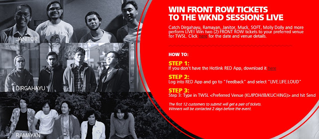 Win a pair of front row tickets to your preferred TWSL show