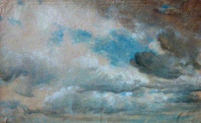 John Constable - étude de nuages,1822.