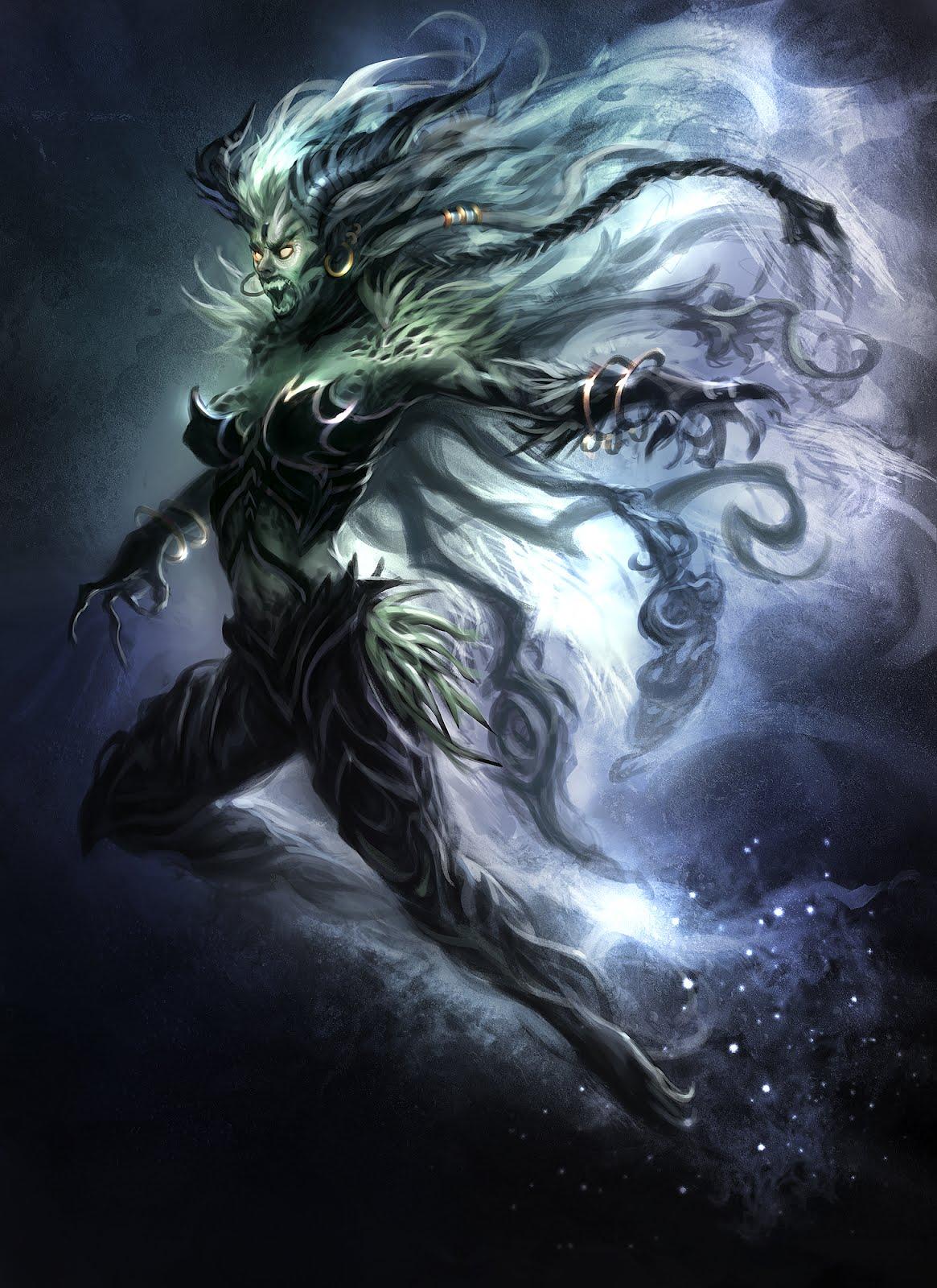 CIREISDEAD: Sorcery Concept Art- The Banshee
