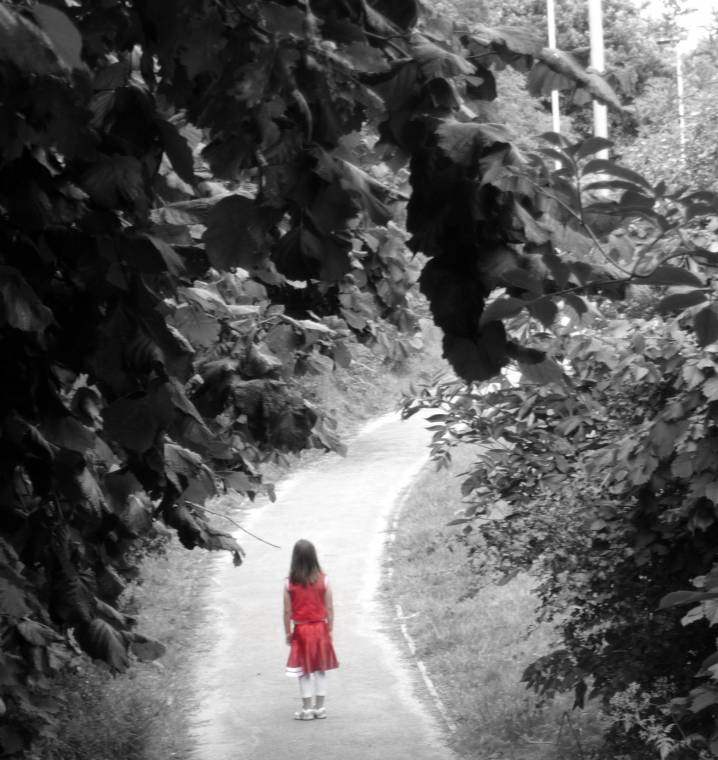 Silent Sunday: The Girl In Red