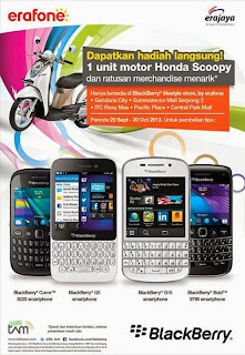 Promo BlackBerry Oktober 2013