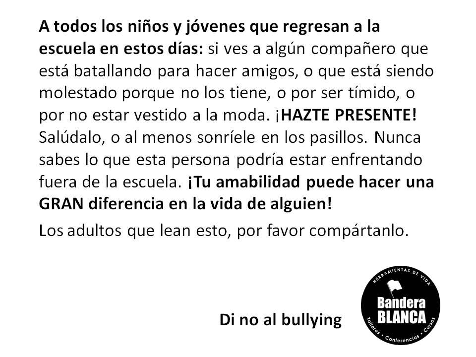 Morrzo Nos Dice      Di No Al Bullying