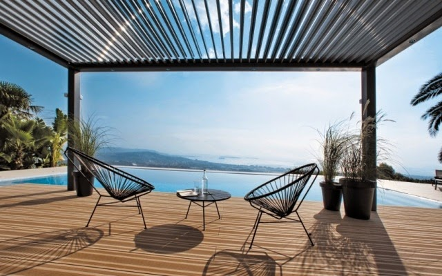 bioclimatic terrace roofs made of aluminum houzz home. Black Bedroom Furniture Sets. Home Design Ideas